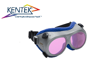 レーザー保護メガネ KGG-7101 ゴーグル (アレキサンドライト) ピンク 可視光透過率 45%