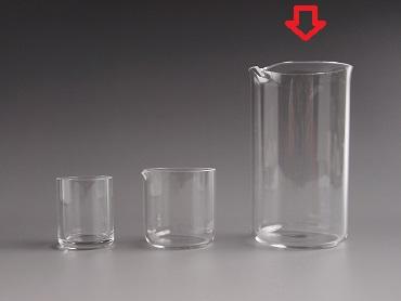 プチクォーツ 石英製ビーカー(100ml)