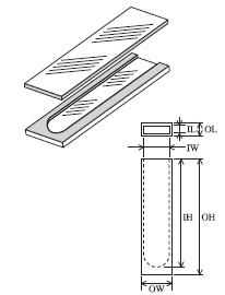 組立セル(2面透明) T-19-ES-0.5