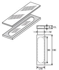 組立セル(2面透明) T-20-ES-0.5