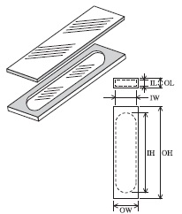 組立セル(2面透明) T-20-ES-1