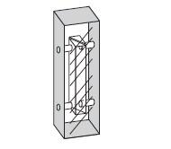 液クロ(LC)用スモールセル(全面透明) T-510-ES-2.54