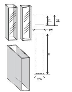 標準セル(2面透明) T-1-ES-5
