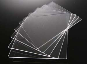 合成石英ガラス基板 Labo-USQ □20×20×0.5t (mm)  5枚セット 高透過率 高純度