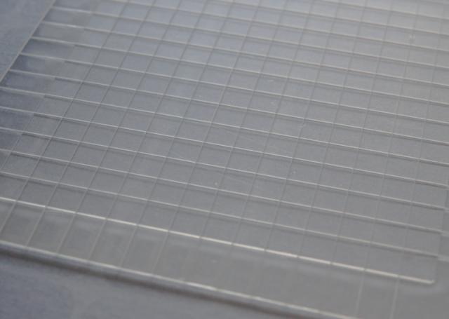 超小型合成石英基板 Labo-USQ® mini □3.6×3.6×0.3t (mm) 100枚