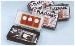 プラズマインジケータ PLAZMARK 耐熱性 ラベル型(貼付可能) No.102(低感度) 10枚入
