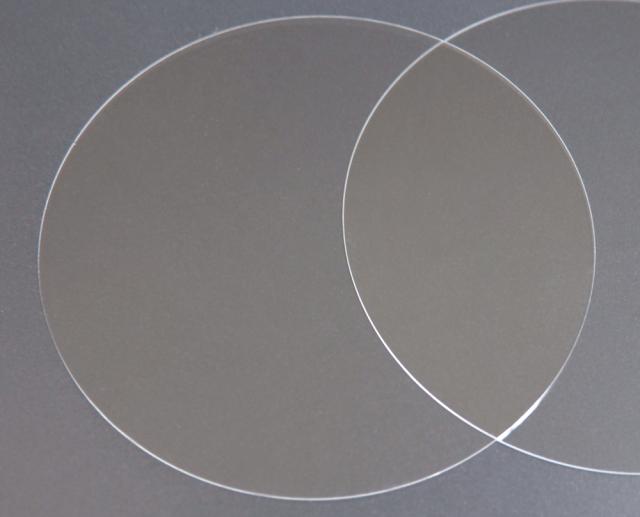 実験用石英ウエハー Labo-Wafer  φ50.8×0.7t(mm) 10枚 合成石英基板
