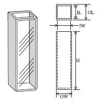 標準セル(曲底2面透明) T-5-ES-10