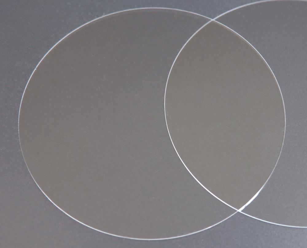 実験用石英ウエハー Labo-Wafer  φ50.8×0.7t(mm) 50枚 合成石英基板