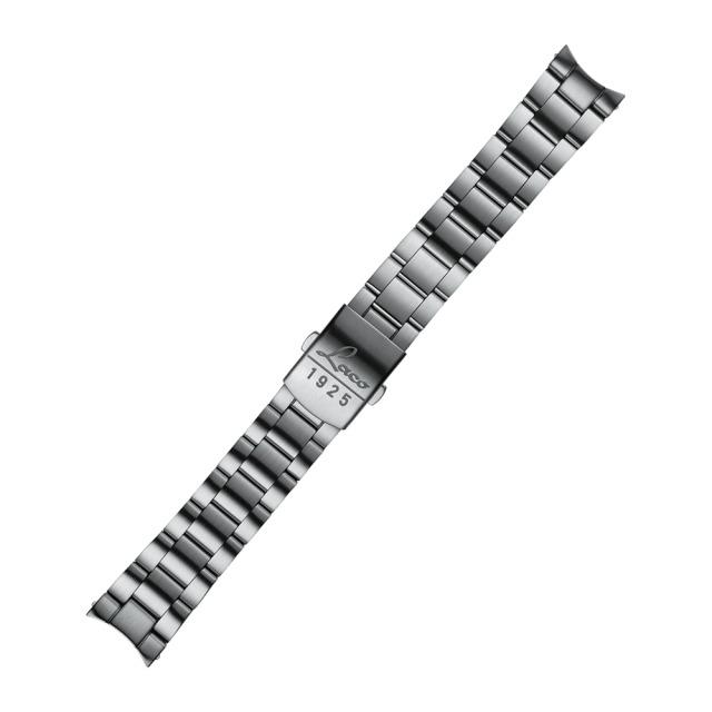 Laco 401979 ステンレスベルト シルバー 18mm幅