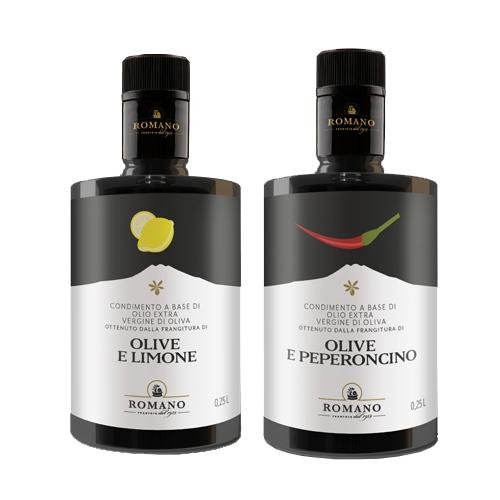 レモンオリーブオイル、ペペロンチーノオイルセット