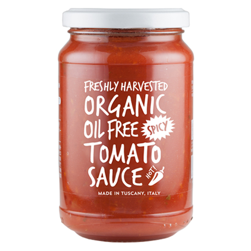 有機トマトたっぷりソース スパイシー