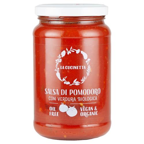 トマトたっぷりソース