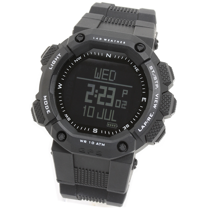 ラドウェザー LAD WEATHER GPSマスター ブラック 反転液晶 LAD006BK1