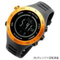 ラドウェザー LAD WEATHER センサーマスター5 オレンジ 反転液晶 LAD048OR-BK