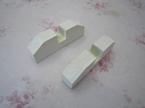 ステンドグラス脚2個セット