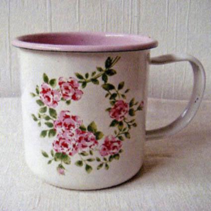 クローヌローズ ホーローマグカップ