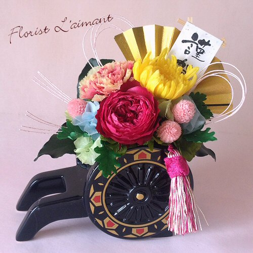 花車Sサイズ(ピンク)01