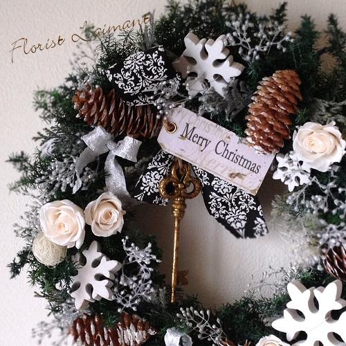 ホワイトクリスマス・リース02