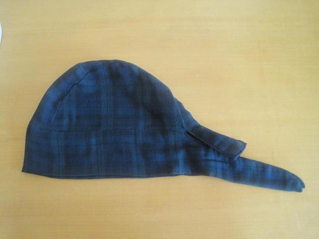 バンダナ帽子,ブラックウォッチ,医療用