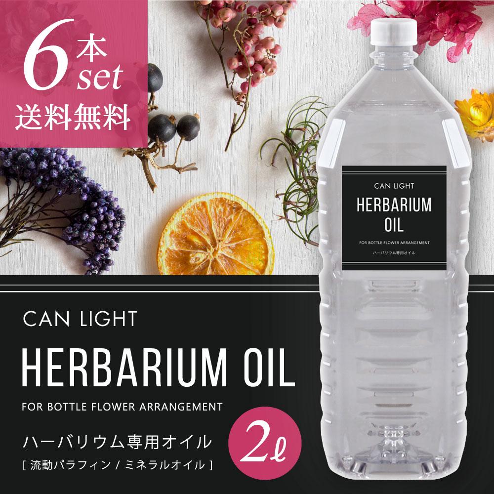 ハーバリウムオイル2L6本セット キャンライト 商品画像
