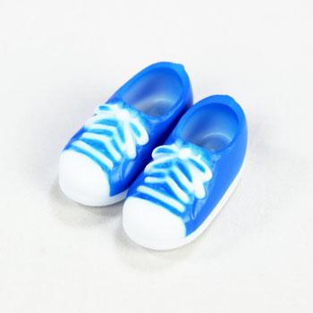 オビツ11センチ用スニーカー靴 マグネット付  ブルー11SH-F004BL-G