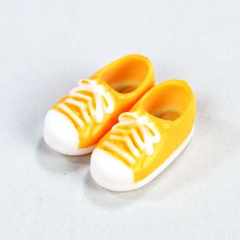 オビツ11センチ用スニーカー靴 マグネット付 オレンジ11SH-F004OR-G