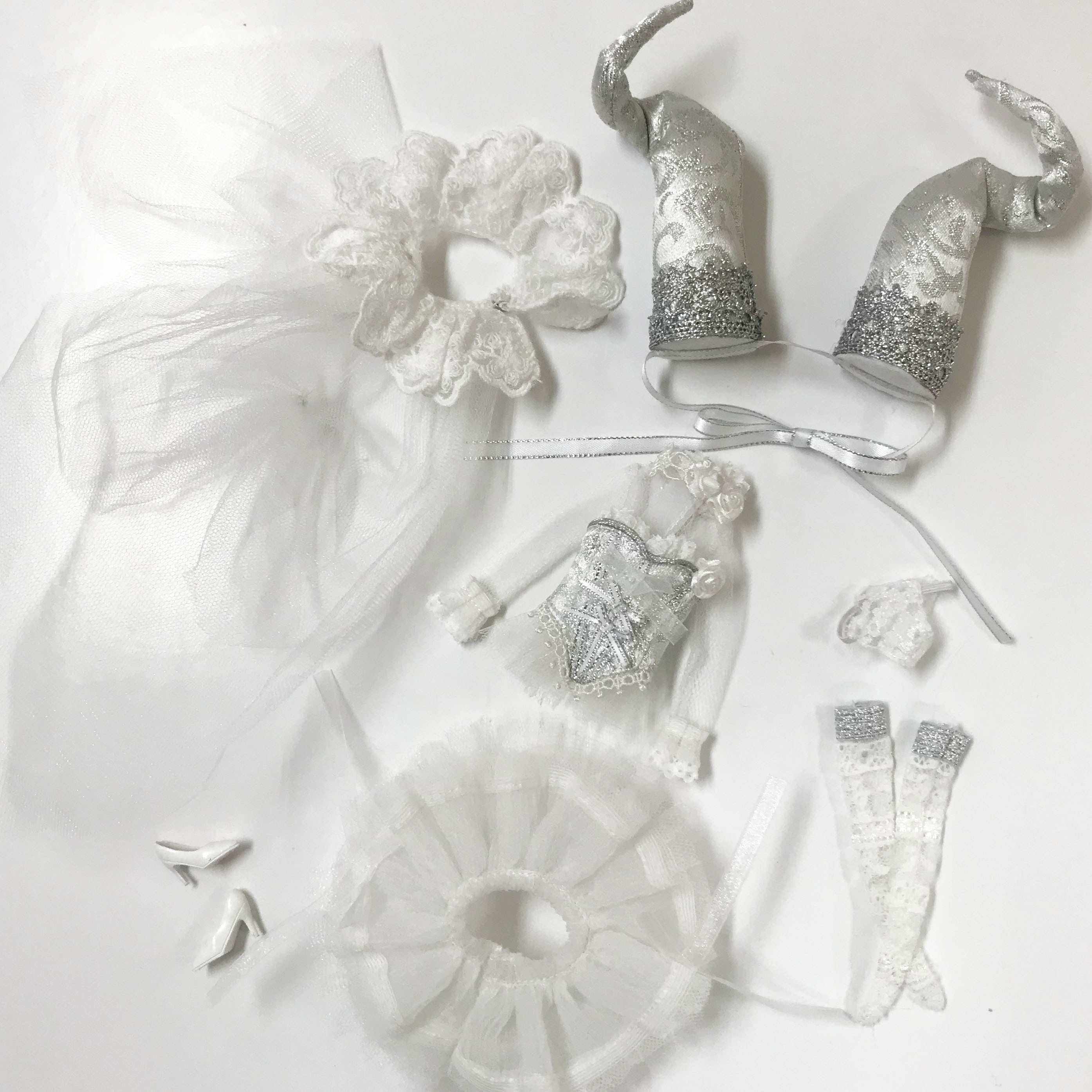 OutFit Selection /Pullip Bouquetin WHITE Ver.(プーリップ ブクタン ホワイトバージョン)O-831