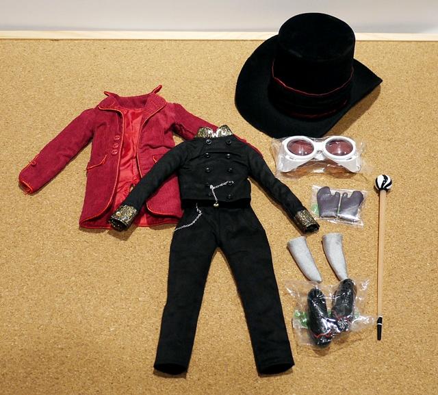 テヤン/Willy Wonka(ウィリー・ウォンカ)アウトフィット