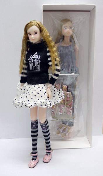 CCS 16SP momoko+フード付きセーターコーデセット