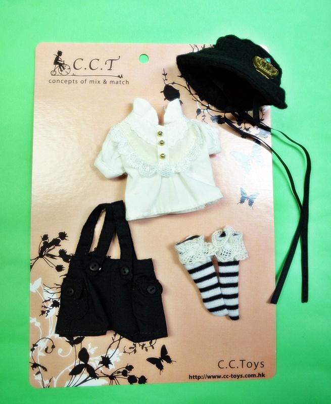 CCTミディブライスサイズ リトルボーイ ドレスセット cmb001