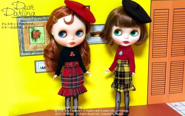 Dear Darling fashion for dolls「sandy ローズワンピースセット」