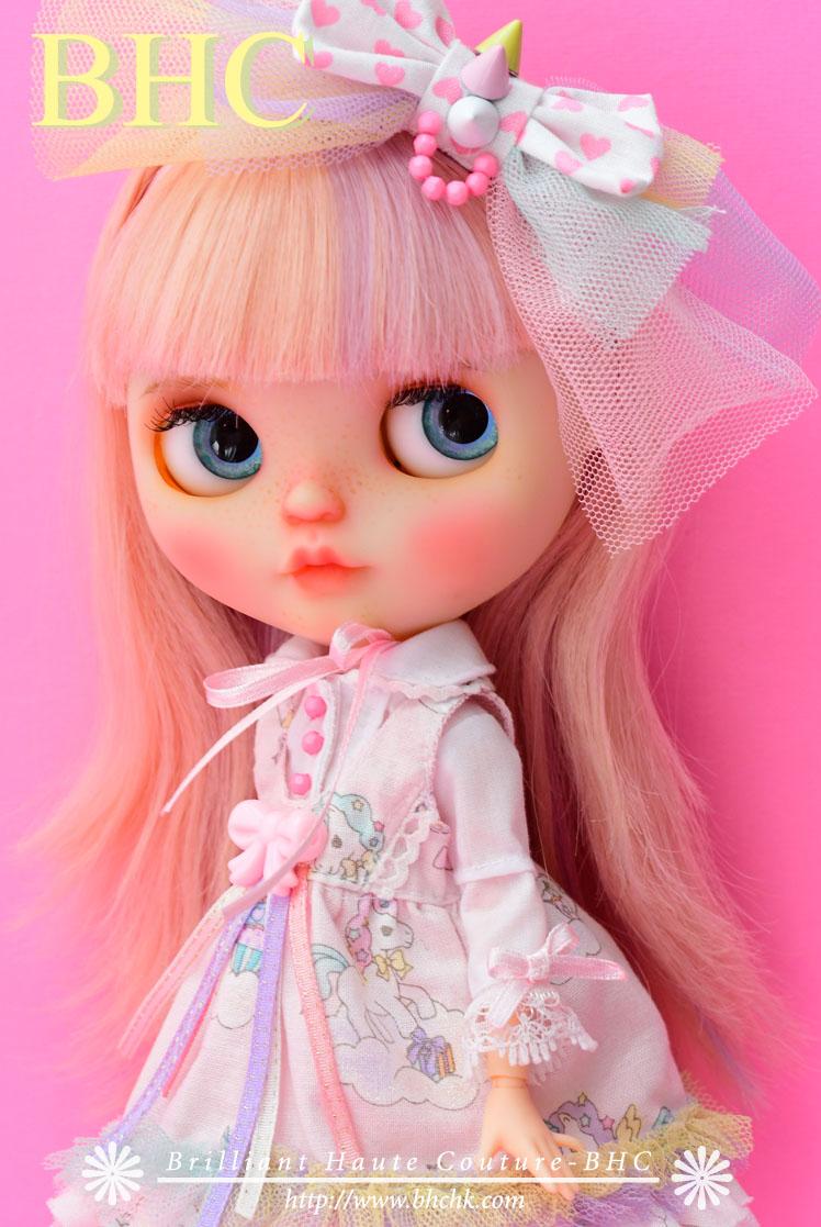 BHC ピンクユニコーン ドレス セット fn709