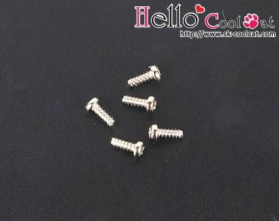 ミディブライスク用ネジ5個セット(Mini)Mini Screw