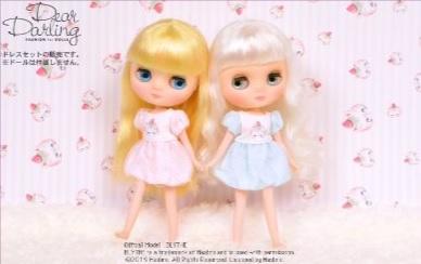 Dear Darling fashion for dolls「MAKI バルーンワンピース」