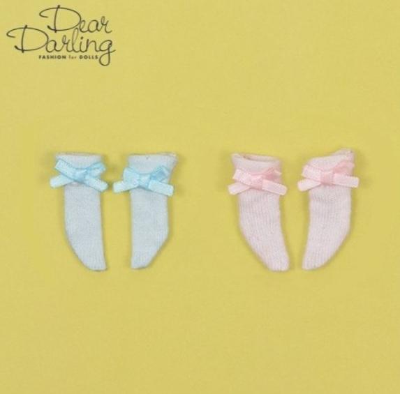 Dear Darling fashion for dolls「三つ折りソックスセット」パステル