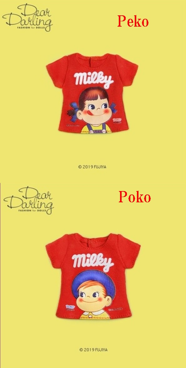 Dear Darling fashion for dolls「Peko&PokoコラボTシャツ」
