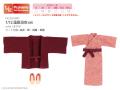 1/12温泉浴衣set エンジ PIC200-BRD