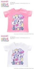 きのこプラネット×ペロペロ★スパ〜クルズ「ビッグ★Tシャツワンピース」 KPT100