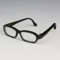 オビツ1/3 メガネLサイズブラック 60GL-L01