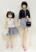 CCS 15SSmomoko&CCSgirl 15SSruruko+リカちゃんおそろいドレスセット