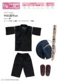 PNXS甚平set 黒 ALB172-BLK