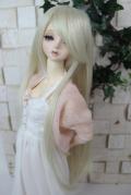 DOLKオリジナル9〜10インチウィッグBL-L0015D(Blond)