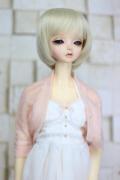 DOLKオリジナル9〜10インチウィッグ BL-L0022D(Blond)