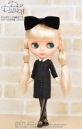 Dear Darling fashion for dolls「Dark Wednesday」ブラック