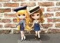Dear Darling fashion for dolls「デニム台形スカート」