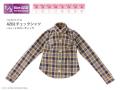 AZO2チェックシャツ イエローチェック FAO079-YLW