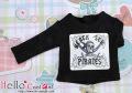 CC半袖プリントTシャツ/ブラックシー ブラック PR-41