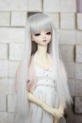 DOLKオリジナル9〜10インチウィッグ SV-L0021D(Silver)