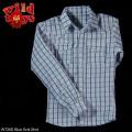 ワイルド・トイズ 1/6スケールコスチューム ブルーグリッドシャツ(WT26D)